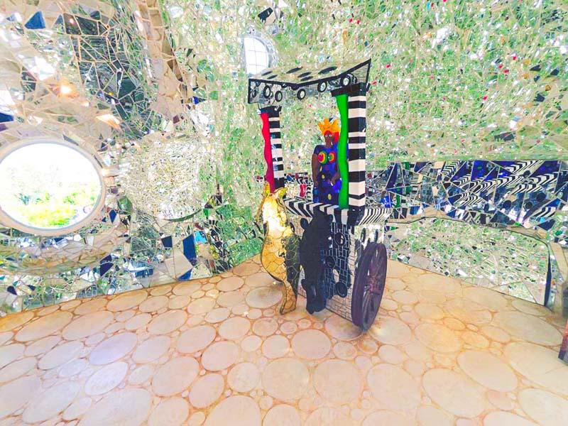 Giardino dei Tarocchi: il carro