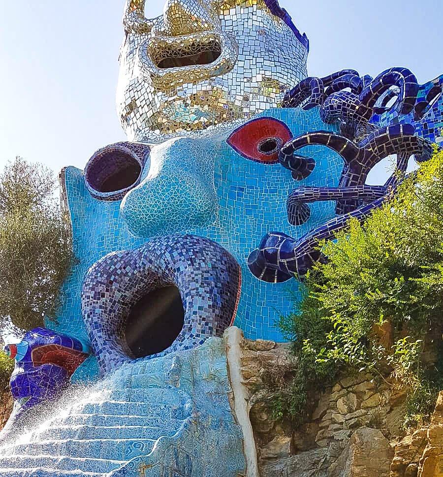 Visiting the Tarot Garden by Niki de Saint Phalle: practical