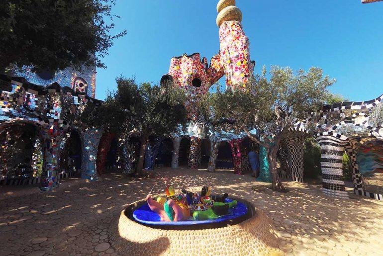 visitare il giardino dei tarocchi