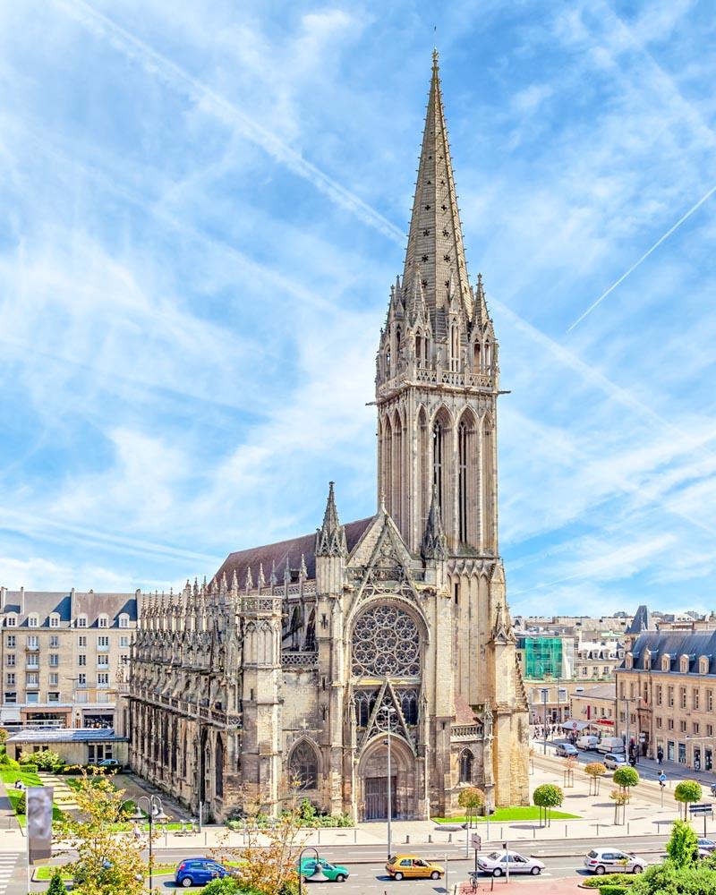 Church of Saint-Pierre in Caen, Normandy