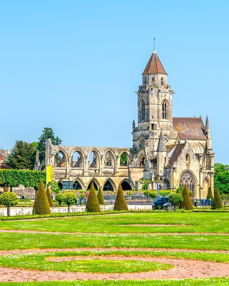 church of Saint-Etienne-le-Vieux in Caen, France