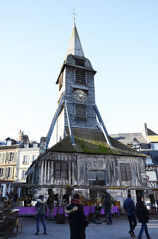 campanile della chiesa di Santa Caterina a honfleur
