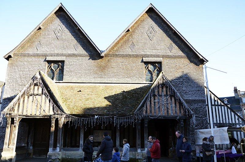 chiesa di Santa Caterina a Honfleur